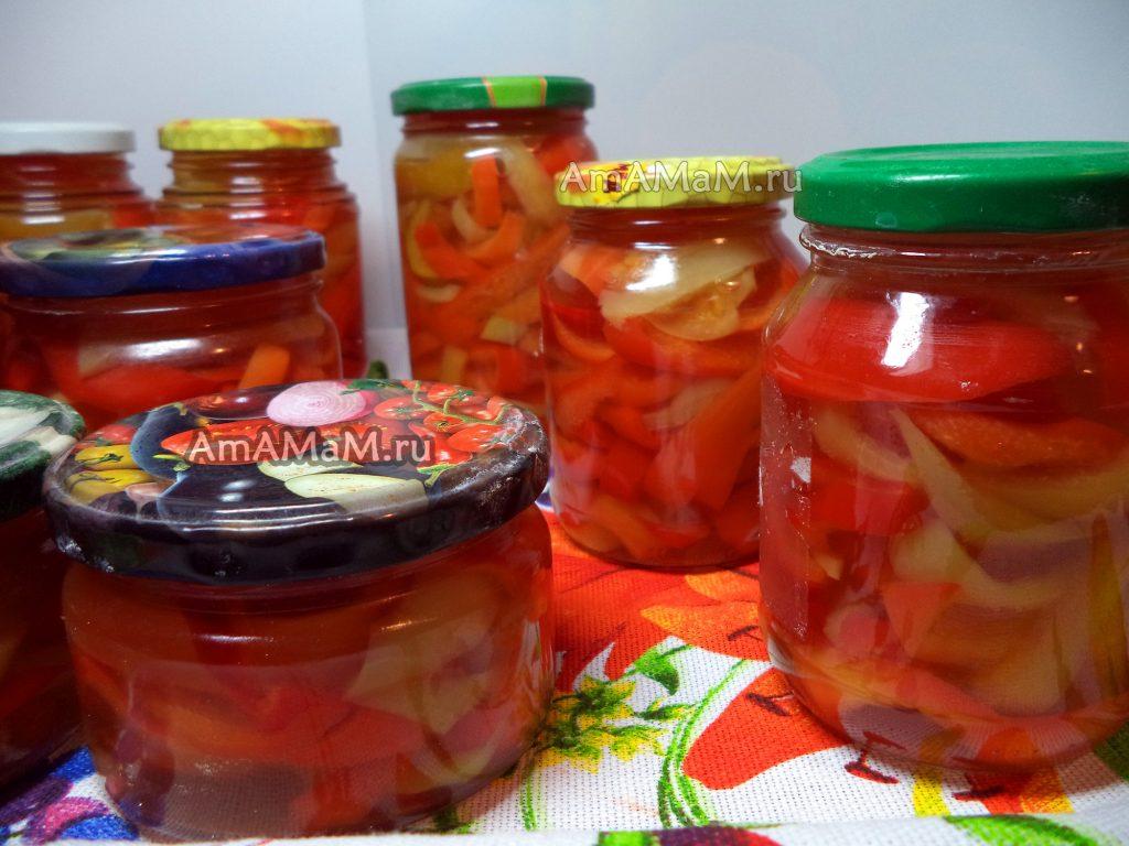 Перец сладкий маринованный - рецепт и пошаговые фото