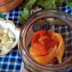 Сладкий перец печеный - салат на зиму