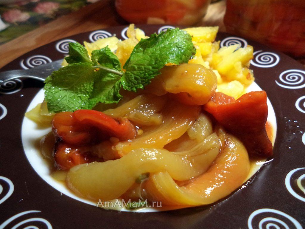 Рецепты зимних салатов - щаготовка и консервирование перца