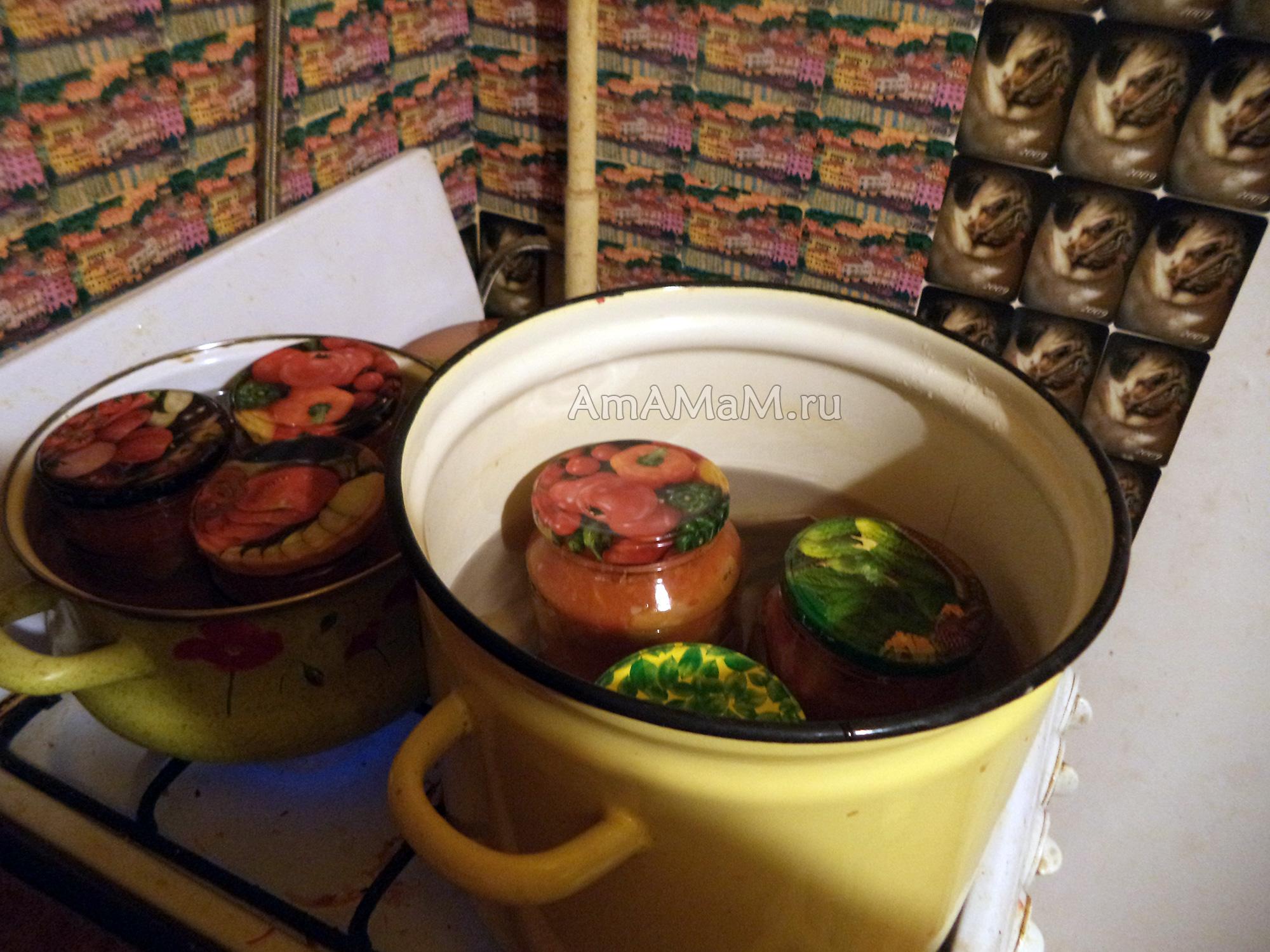 рецепты консервирования кабачков и салатов из кабачков
