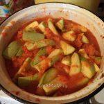 Салат из долек кабачка на зиму - рецепт