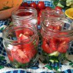 Салат из огурцов-помидоров на зиму