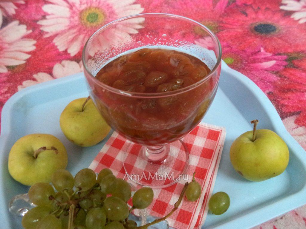 Виноградное варенье - легкий рецепт