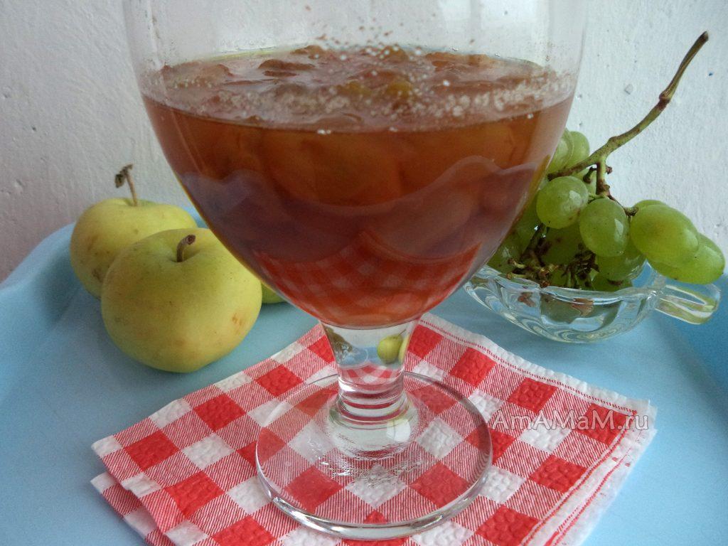 Рецепт виноградного варенье и джема