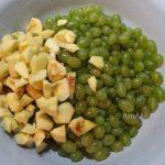 Пошаговые фото варки варенья из винограда и яблок