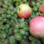 Заготовка винограда на зиму - варенье с яблоками