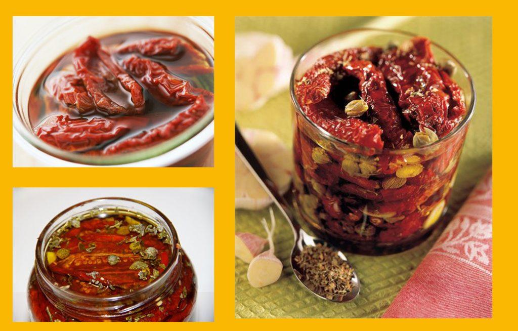 Как делать вяленые помидоры - рецепт на зиму