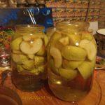 Приготовление яблочного компота на зиму - подробный рецепт