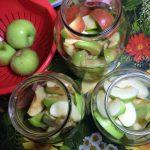 Компот из яблок на зиму - пошаговые фото