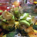 Заготовка компота из яблок