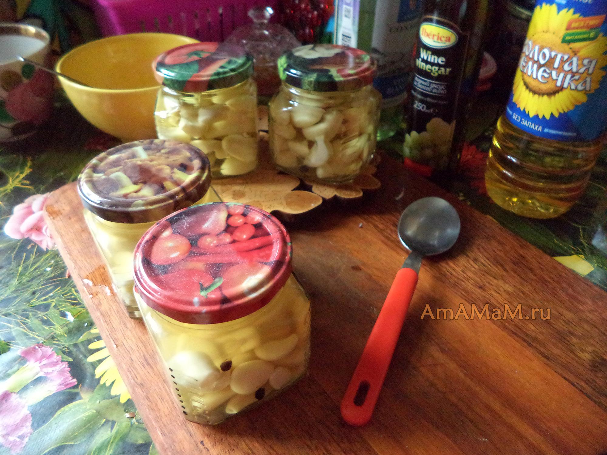Заготовка чеснока на зиму рецепты консервирования (маринуем, солим.) 38