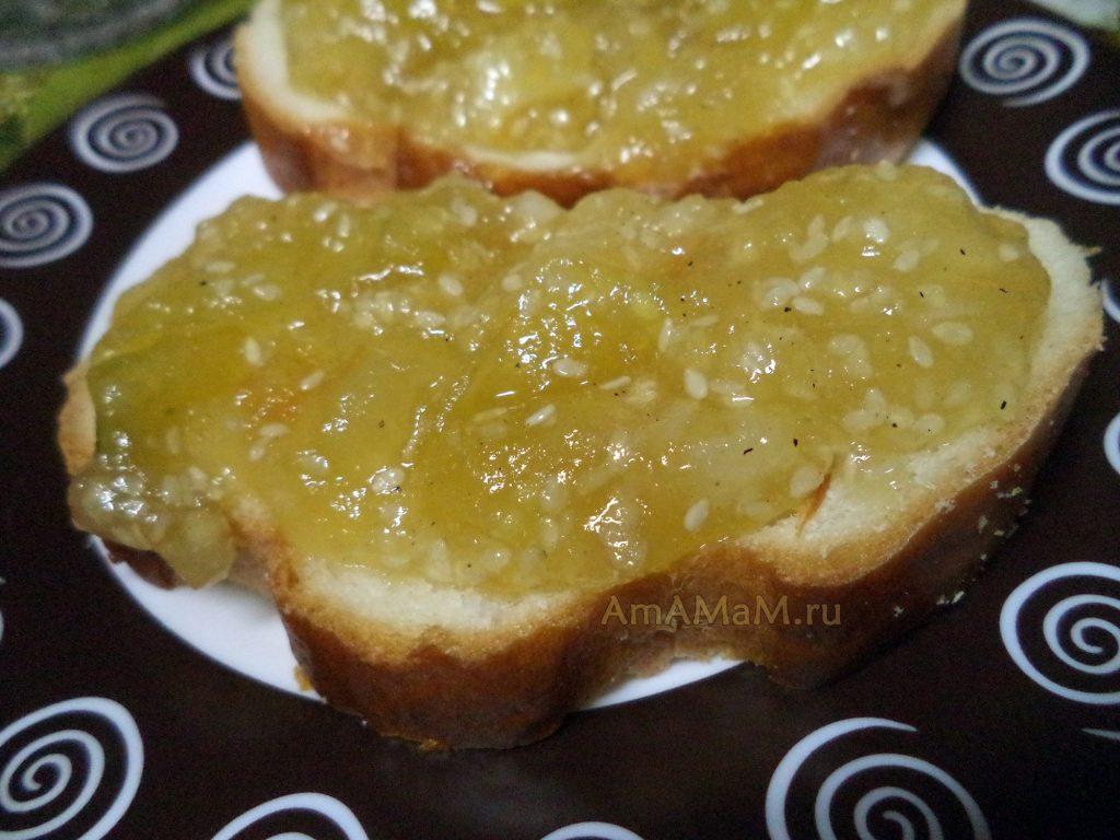 Бутерброды с яблоками