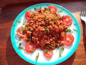 Рецепт булгура с фасолью