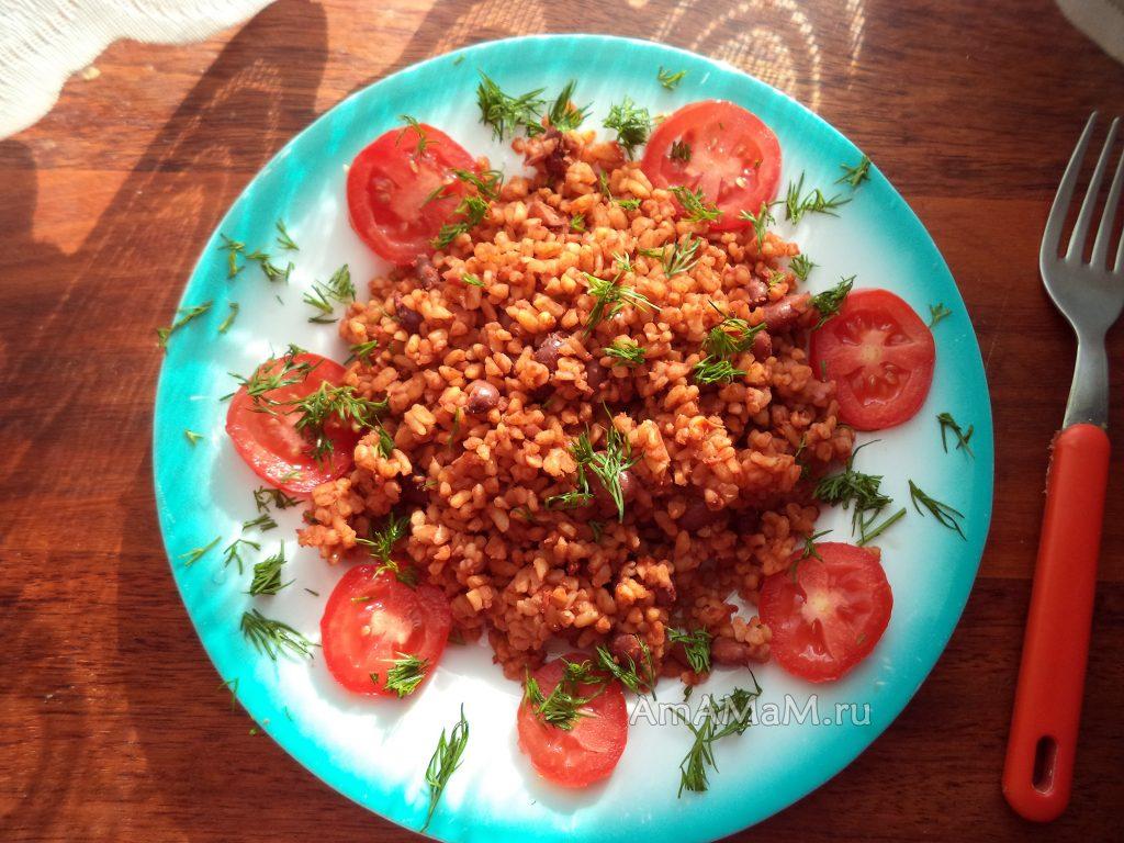 Приготовление фсоли с булгуром - простой рецепт