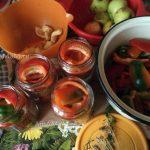 Сладкий перец с яблоками - способ приготовления