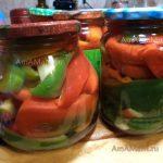 Перец с яблоками и корицей - рецепт маринования