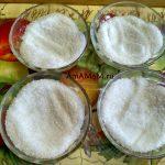 Как маринуют желтки - соль и сахар