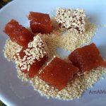 Яблочный мармелад в кунжуте - рецепт своими руками