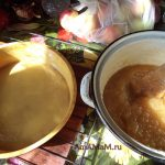 Приготовление яблочного повидла и мармелада