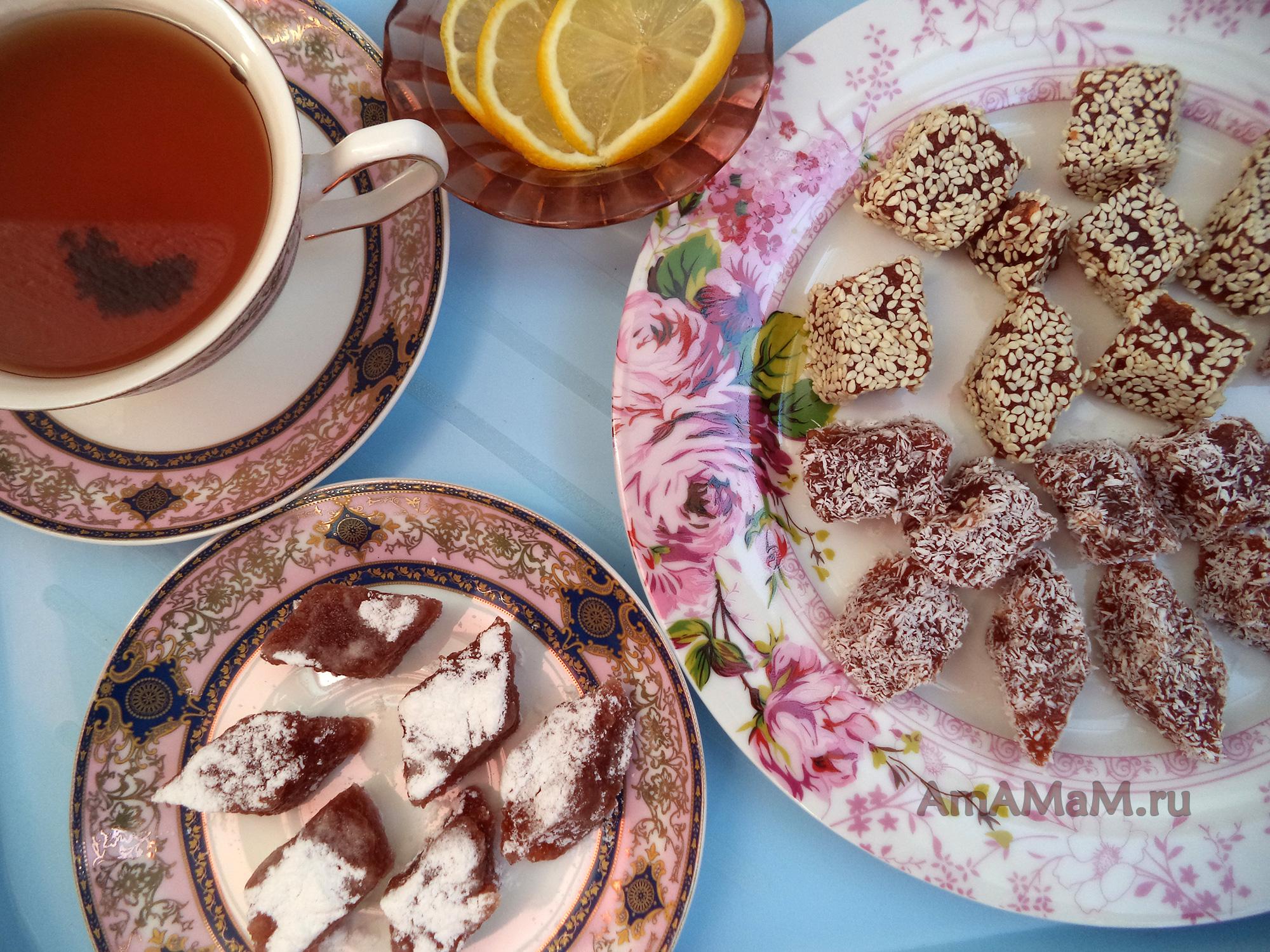 Яблочный мармелад домашнего приготовления - фото и рецепт