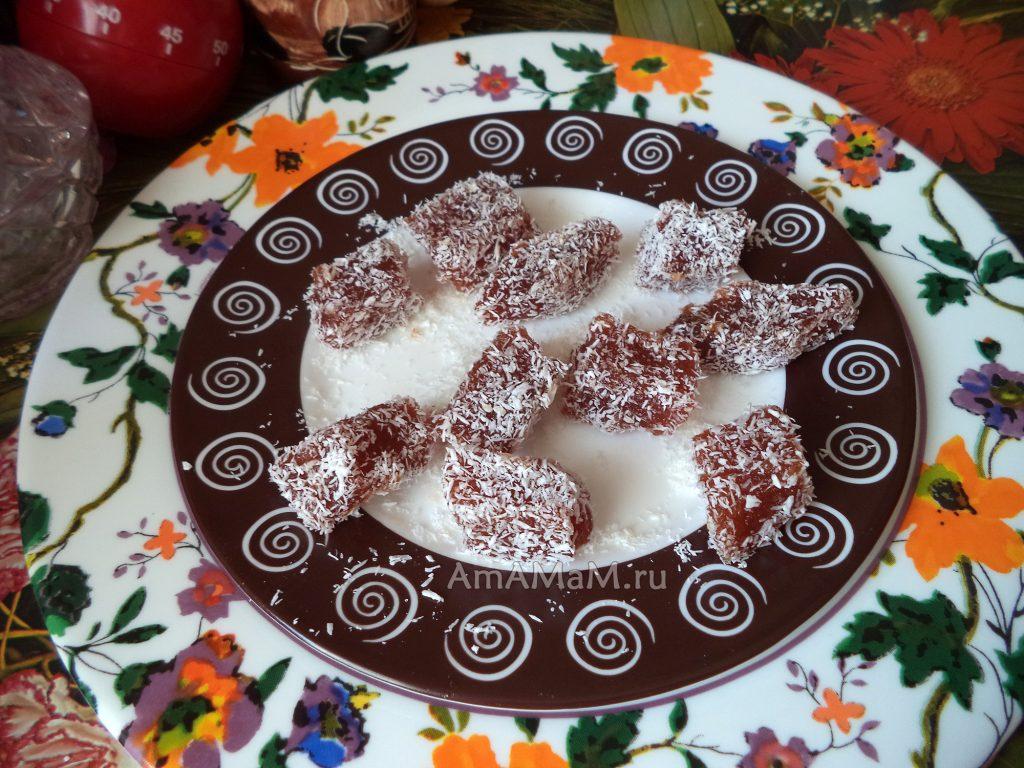 Мармеладные конфеты домашнего приготовления