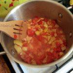 Приготовление вермишели в овощах