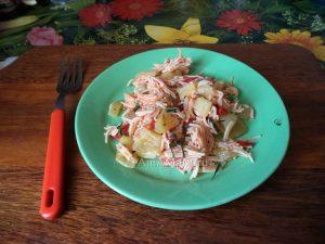 Вкусная вермишель с овощами - рецепт и фото