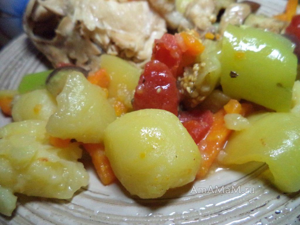 Блюда из курицы с овощами - рецепт рагу