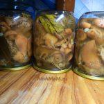 Рыжики в маринаде