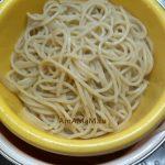 Спагетти в дуршлаге