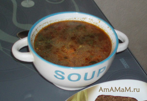 Рецепт супа харчо с фото