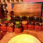 Соус томатный домашнего консервирования