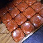Банки с томатным соусом и рецепт