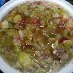 Рецепт варенья из яблок и винограда