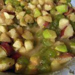 Варим варенье из яблок с виноградом