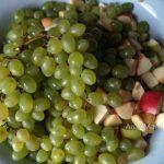 Виноград и яблоки - варенье