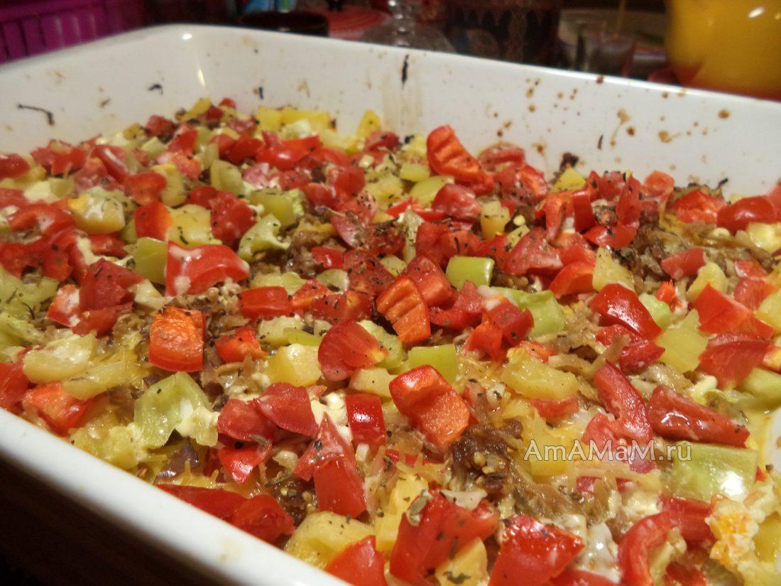 Овощная запеканка рецепт пошаговые фото