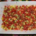 Приготовление овощной запеканки с сухими макаронами (вермишелью)