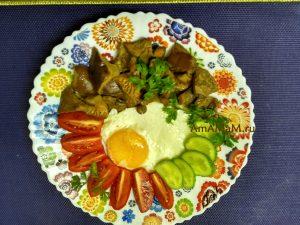 Жареные рыжики - простой рецепт на сухой сковороде