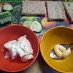 Сырный крем из сливочного сыра и майонеза для английских сэндвичей