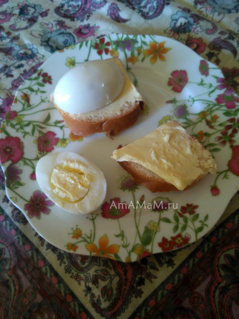 Сэндвичи и бутерброды с вареным яйцом