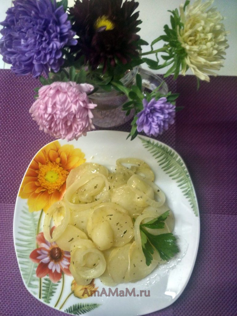 Что сделать из картофеля в духовке - гратен