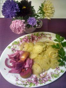 Картофельная запеканка (гратен) с луком
