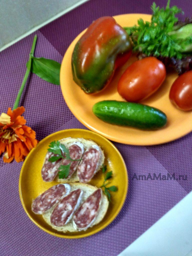 Фуэт с овощами - фото