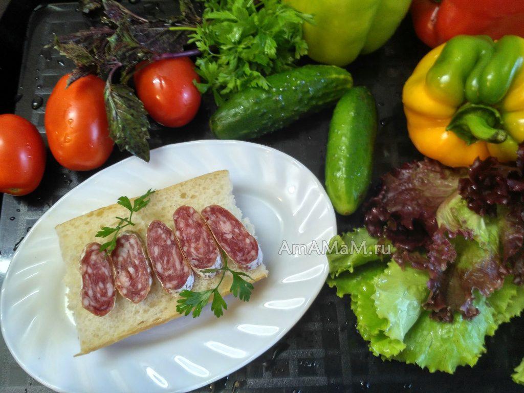 Как есть Фуэт - фото колбасы из Испании