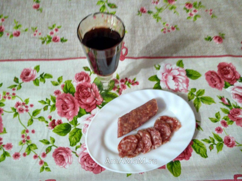 Фуэт - испанская колбаса