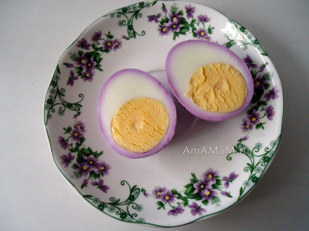 Яйца закуска