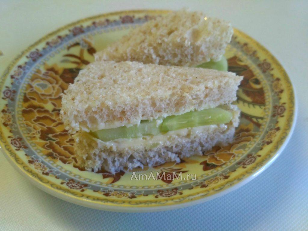Как сделать бутерброды с огурцами - английские сэндвичи
