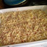 Как приготовитьзапеканку из фарша и сухой вермишели - рецепт с фото