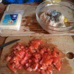 Мясная запеканка из фарша, овощей и вермишели